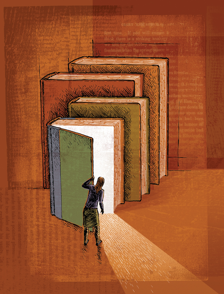 Книга и дверь картинки
